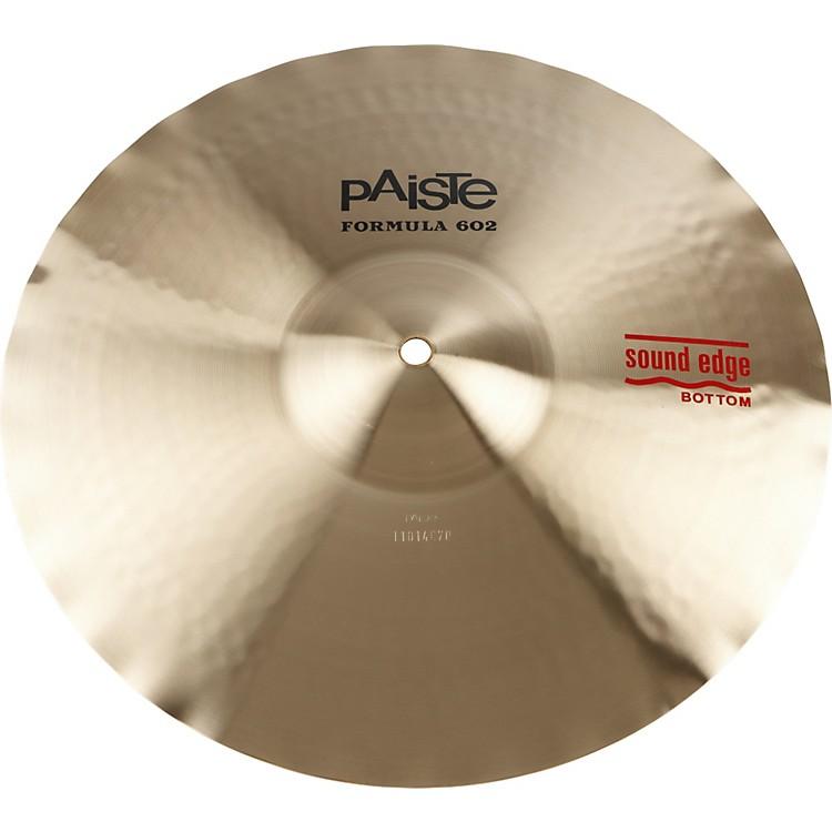 PaisteFormula 602 Series Sound Edge Hi-Hat Bottom