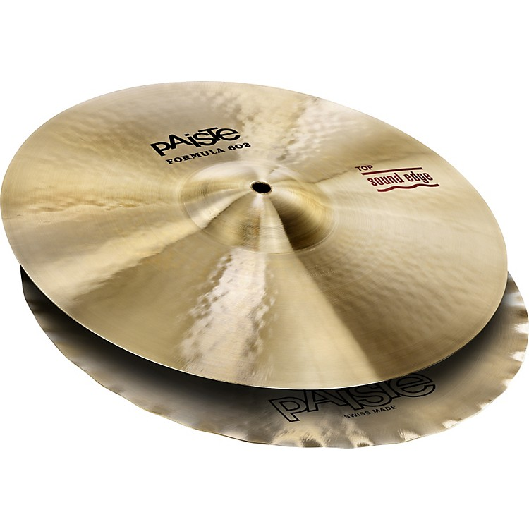 Paiste Formula 602 Series Sound Edge Hi-Hats 14 in.