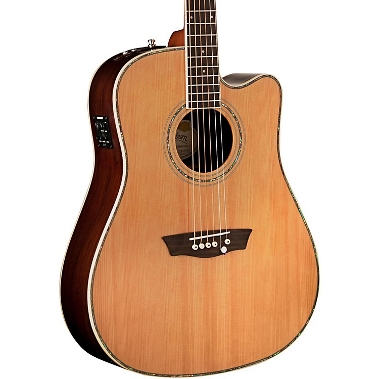 Washburn Forrest Lee Bender Acoustic Guitar Natural