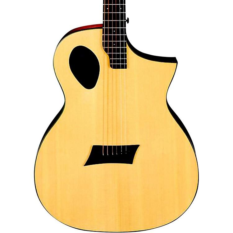 Michael KellyForte Port Offset Soundhole Cutaway Acoustic Electric GuitarNatural