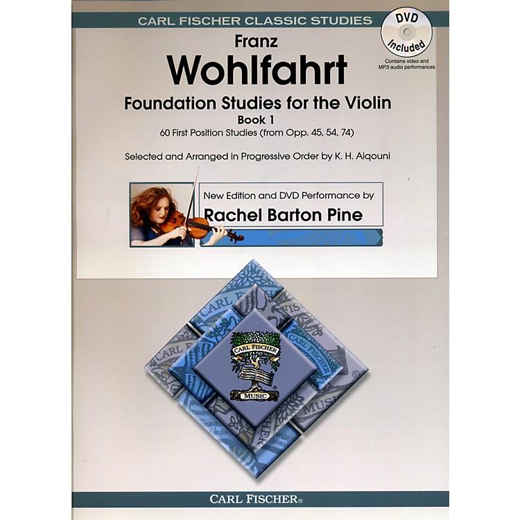Carl FischerFoundation Studies for Violin Book 1 (Book + DVD)