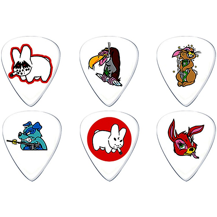 Dunlop Frank Kozik Design Guitar Picks 6 Pack .73 mm 6-Pack