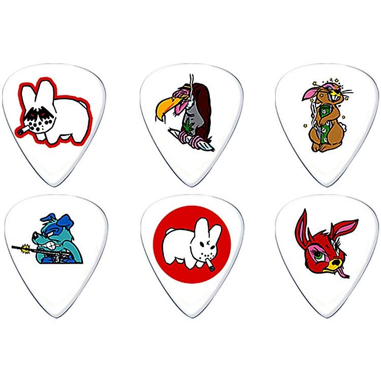 DunlopFrank Kozik Design Guitar Picks 6 Pack