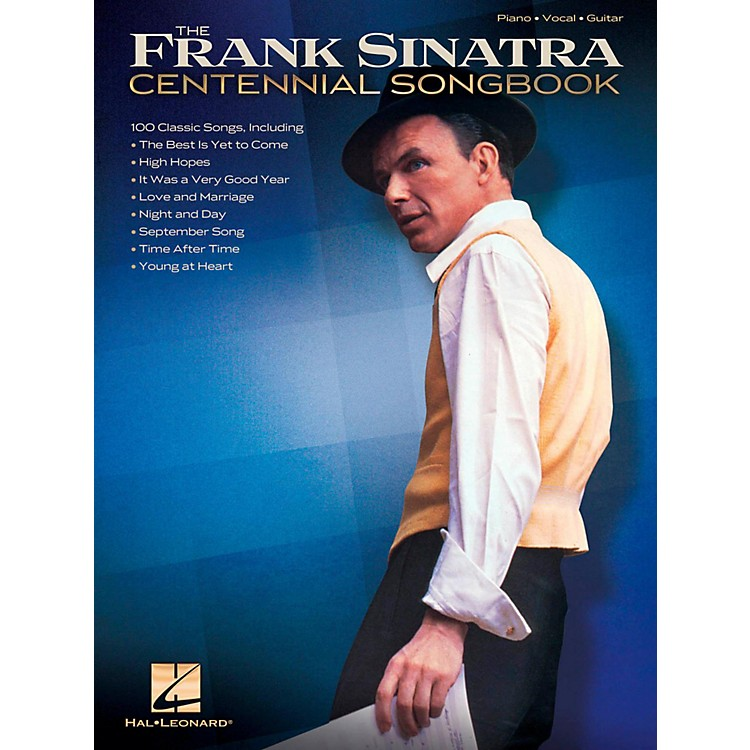 Hal LeonardFrank Sinatra Centennial Songbook Piano/Vocal/Guitar Songbook