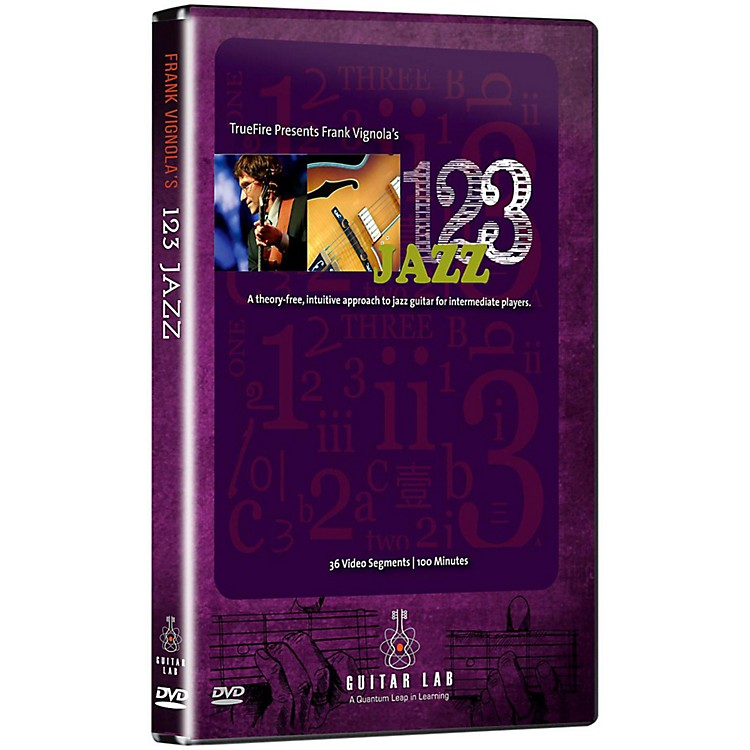 EmediaFrank Vignola's 123 Jazz Guitar DVD