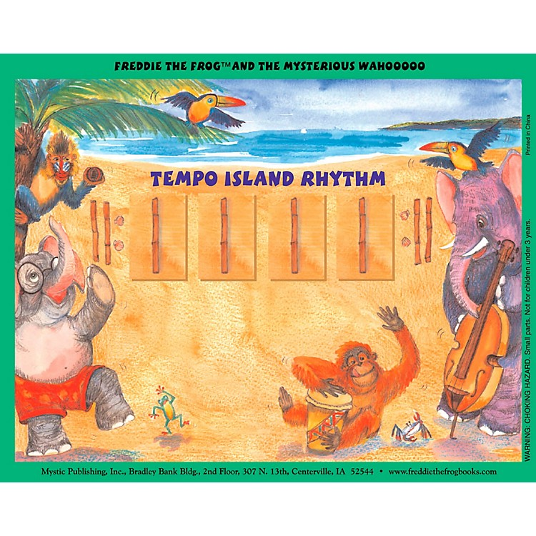 Hal LeonardFreddie The Frog And The Mysterious Wahooooo - Magnetic Rhythm Board Set