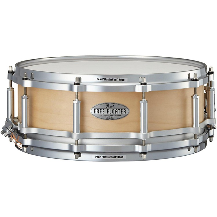 Pearl Free Floating Maple Snare Drum 14 x 5 in. Natural