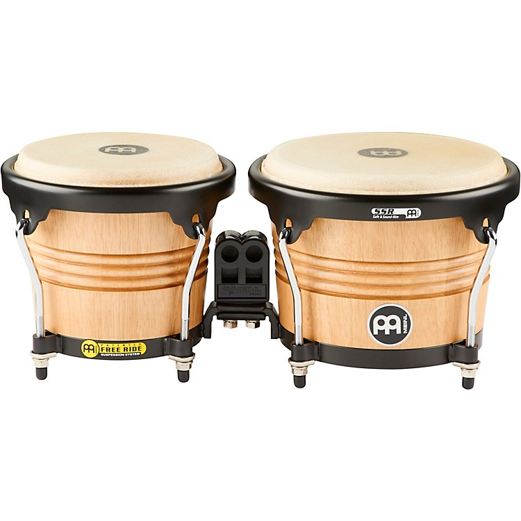 Meinl Free Ride Series Wood Bongo Super Natural