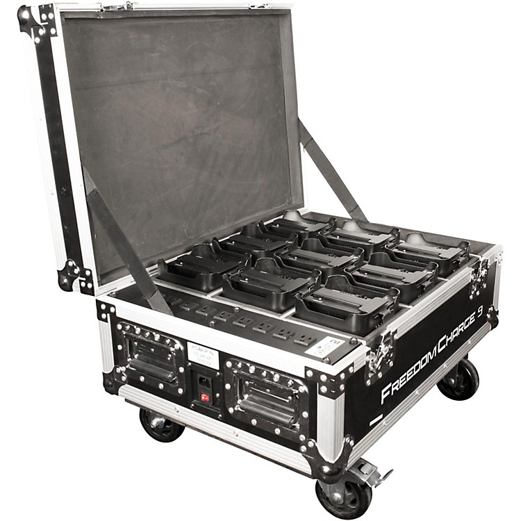 ChauvetFreedom Charge 9 Road Case