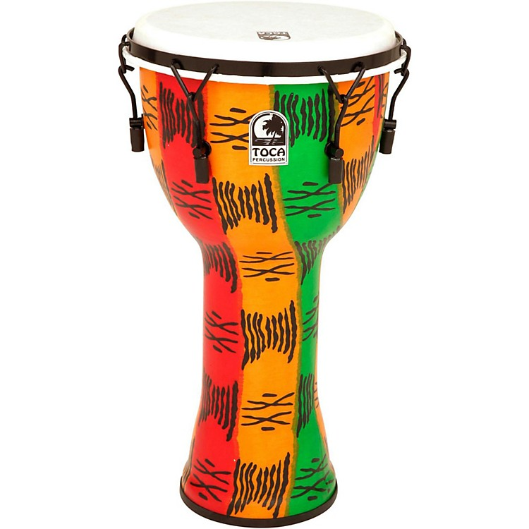 TocaFreestyle II Mechanically-Tuned Djembe with Bag14 in.Spirit