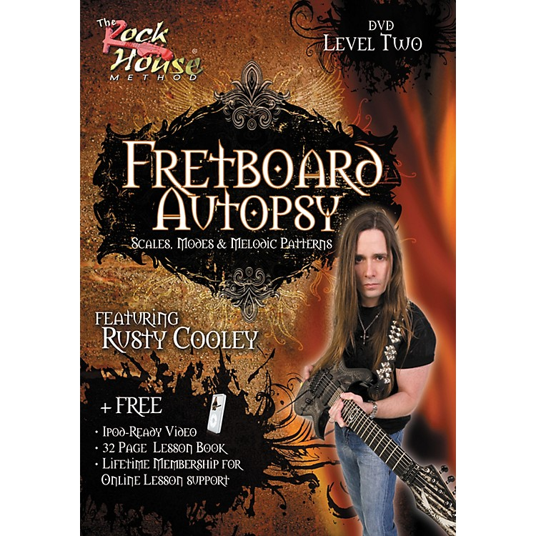 Rock HouseFretboard Autopsy - Scales, Modes & Melodic Patterns, Level 2 Featuring Rusty Cooley (DVD)