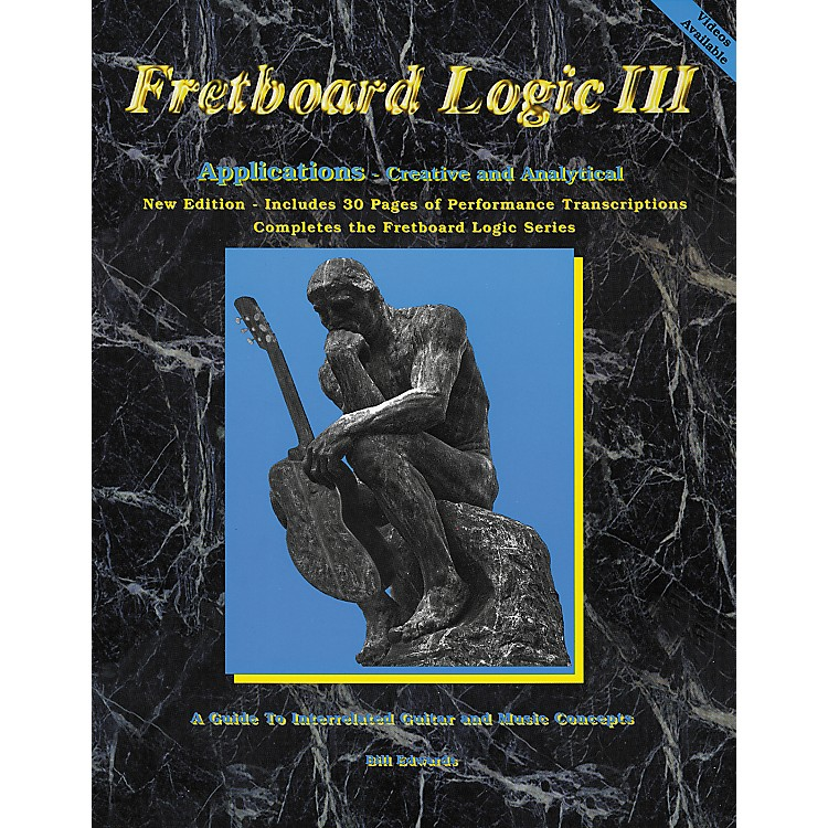 Bill Edwards Publishing Fretboard Logic 3 Applications Book