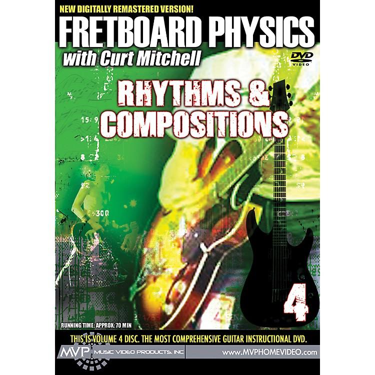MVPFretboard Physics 4 DVD - Rhythms & Compositions for Guitarists