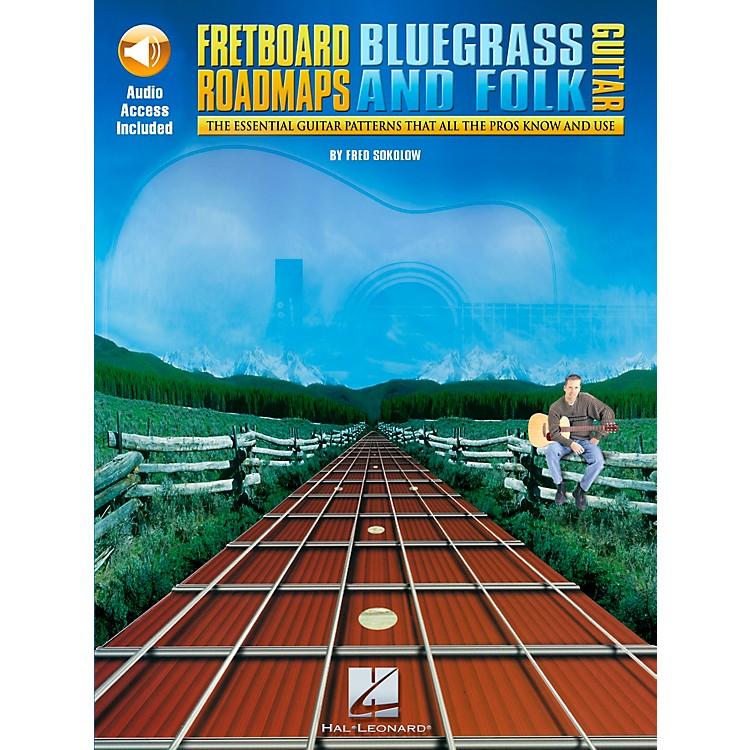 Hal LeonardFretboard Roadmaps - Bluegrass and Folk Guitar (Book/CD)