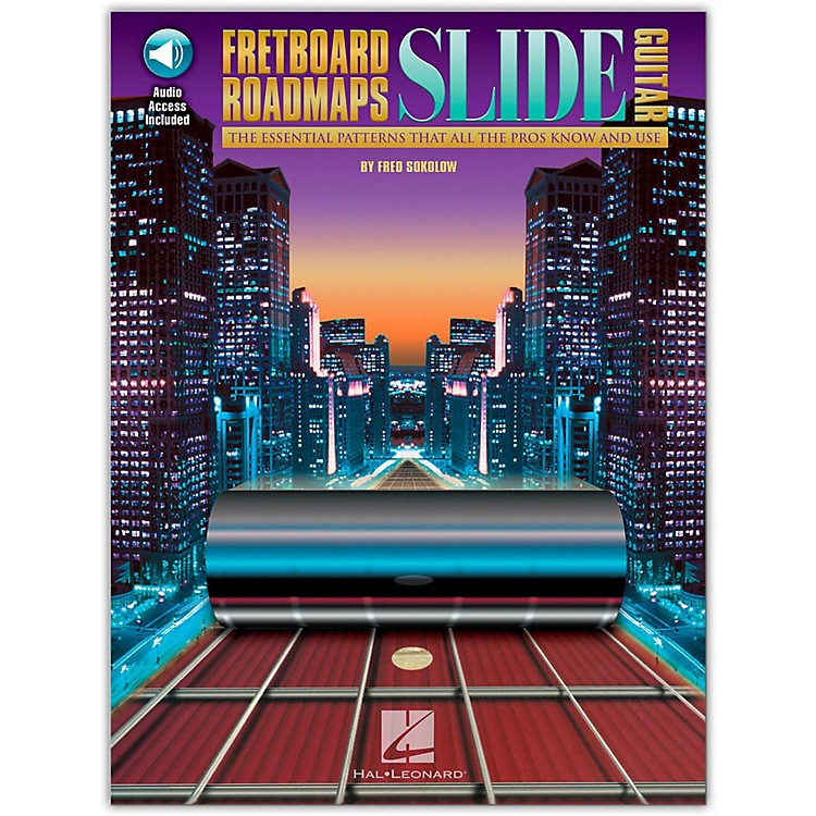 Hal Leonard Fretboard Roadmaps — Slide Guitar (Book/CD)