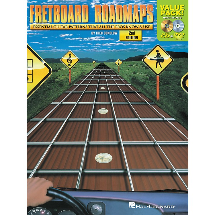 Hal Leonard Fretboard Roadmaps Value Pack (Book/CD/DVD)