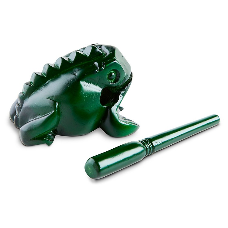 Nino Frog Guiro Green Medium