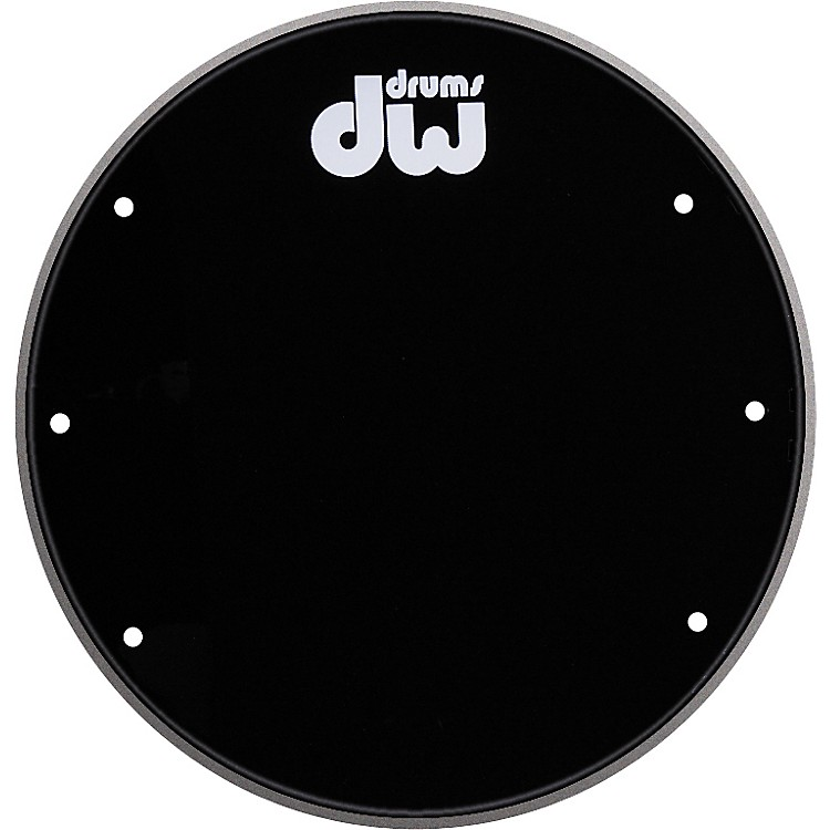DW Front Ported Bass Drumhead with Logo  20 in.