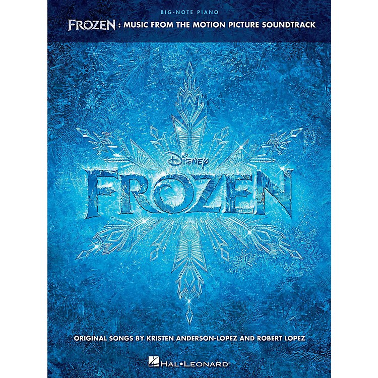 Hal LeonardFrozen - Music From The Motion Picture Soundtrack for Big Note Piano