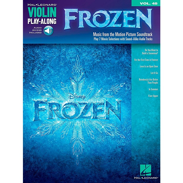 Hal LeonardFrozen - Violin Play-Along Volume 48 Book/Online Audio