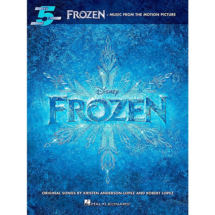 Hal LeonardFrozen: Music From The Motion Picture For Five-Finger Piano