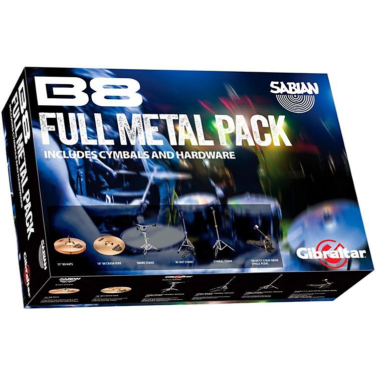 SabianFull Metal Cymbal and Hardware Pack