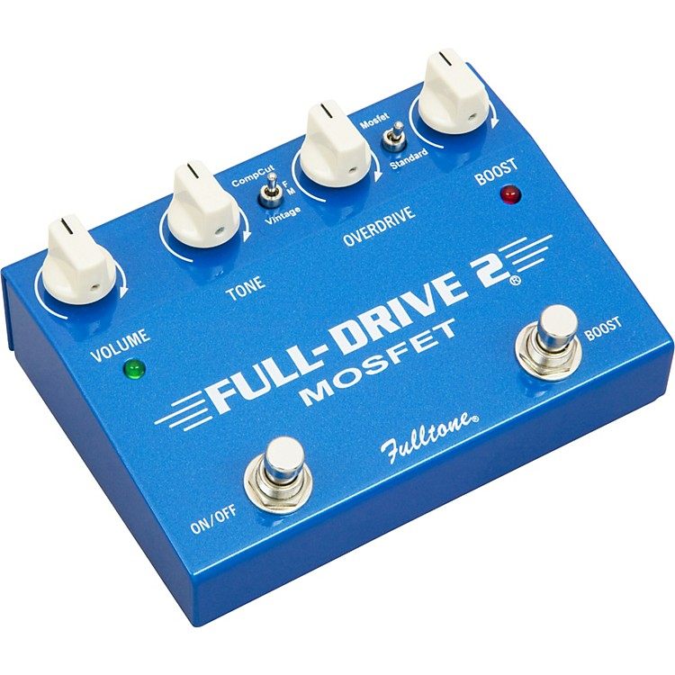 FulltoneFulldrive2 MOSFET Overdrive/Clean Boost Guitar Effects PedalBlue