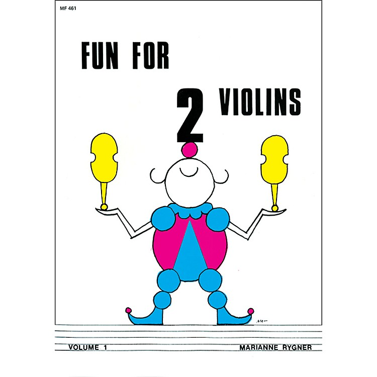 Alfred Fun for 2 Violins, Volume 1 Book