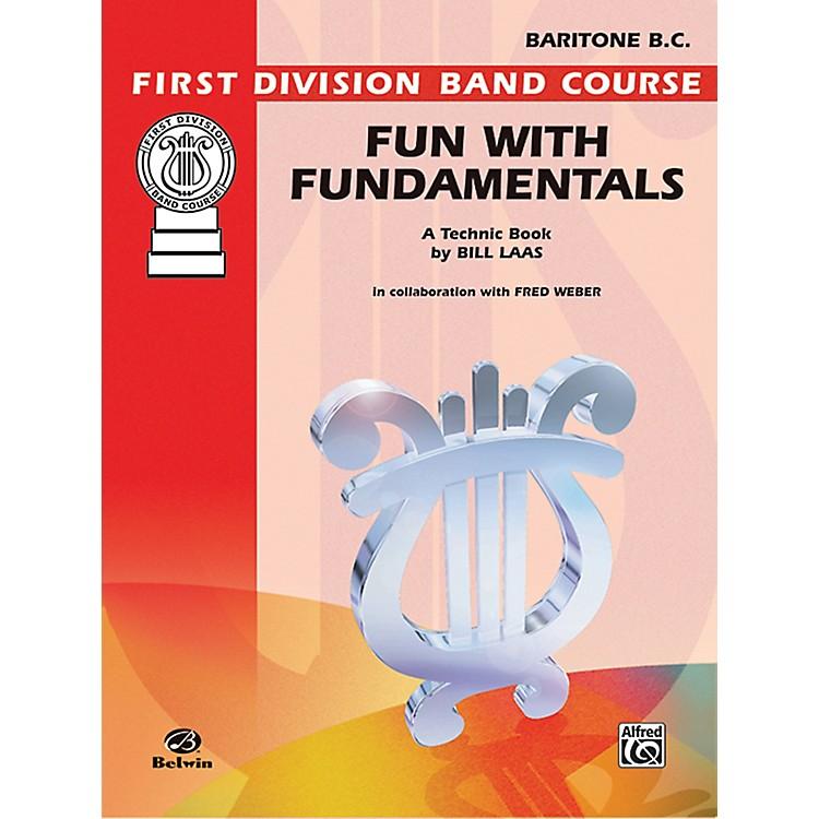 AlfredFun with Fundamentals Baritone (B.C.) Book