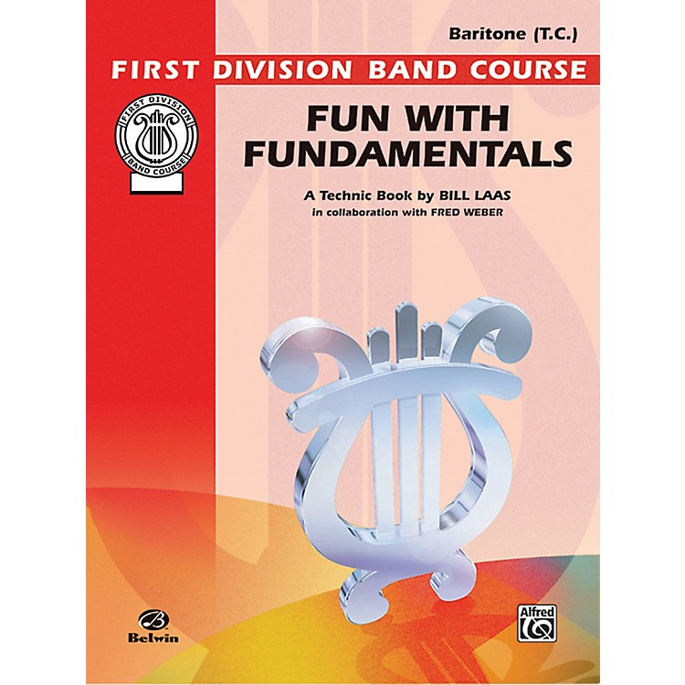 AlfredFun with Fundamentals Baritone (T.C.) Book