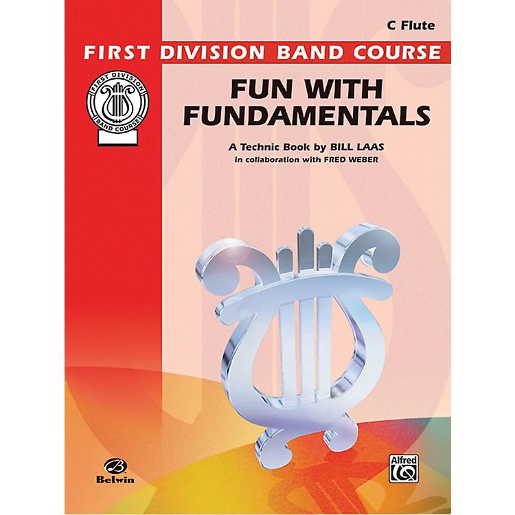 AlfredFun with Fundamentals C Flute Book