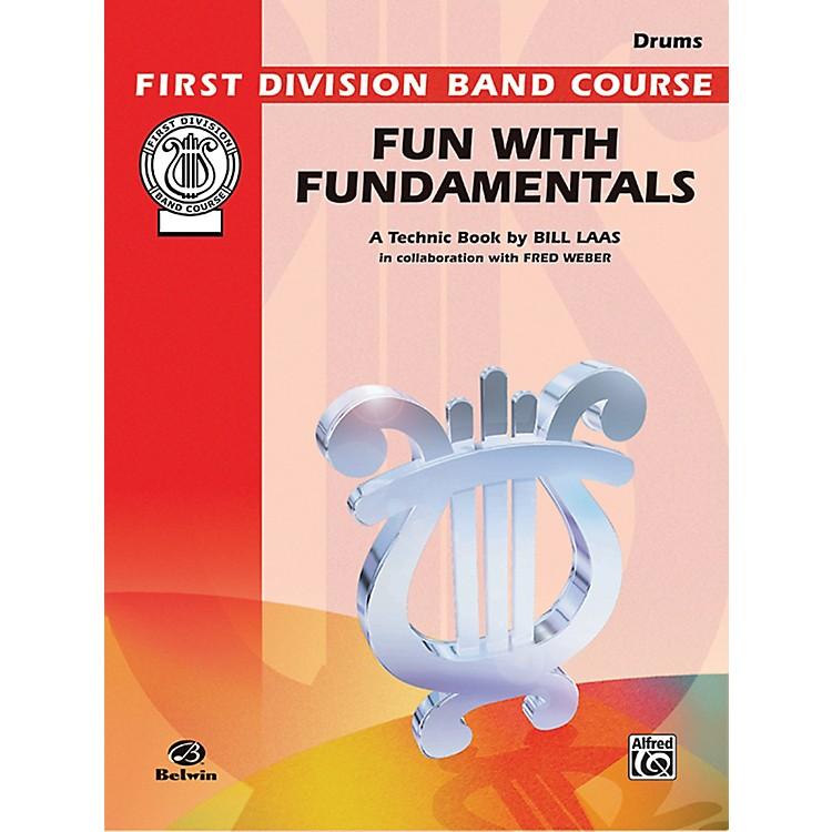 AlfredFun with Fundamentals Drums Book