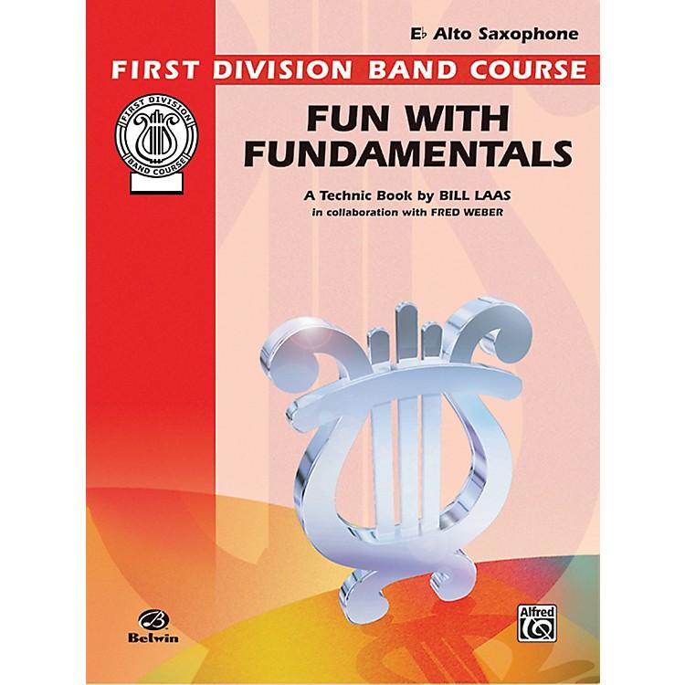 AlfredFun with Fundamentals E-Flat Alto Saxophone Book