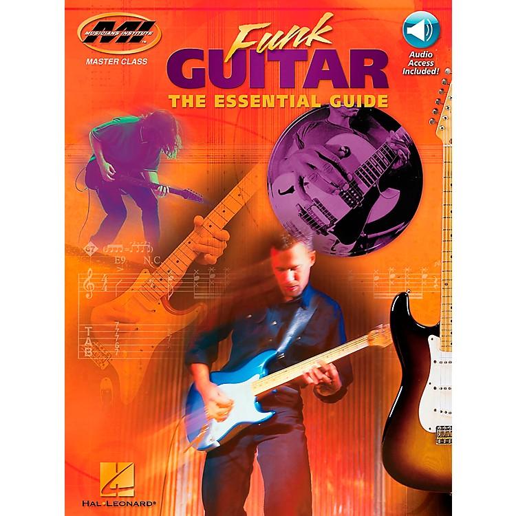 Hal LeonardFunk Guitar Book/CD