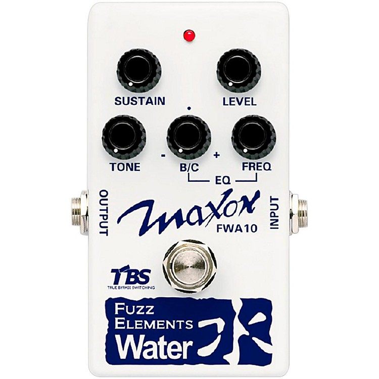 Maxon Fuzz Elements Water Guitar Fuzz Pedal
