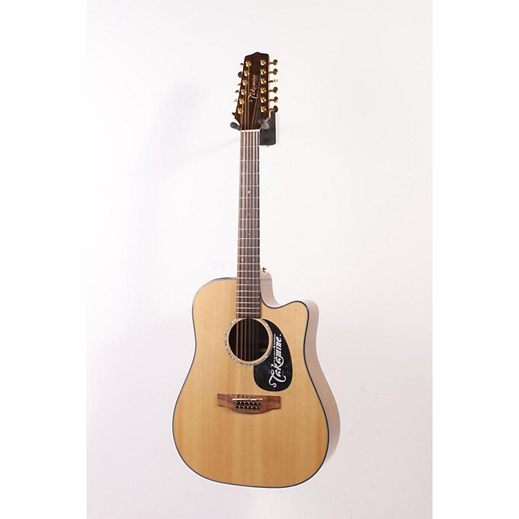 Takamine G Dreadnought EG345C 12-String Acoustic-Electric Guitar Gloss Natural 886830943584