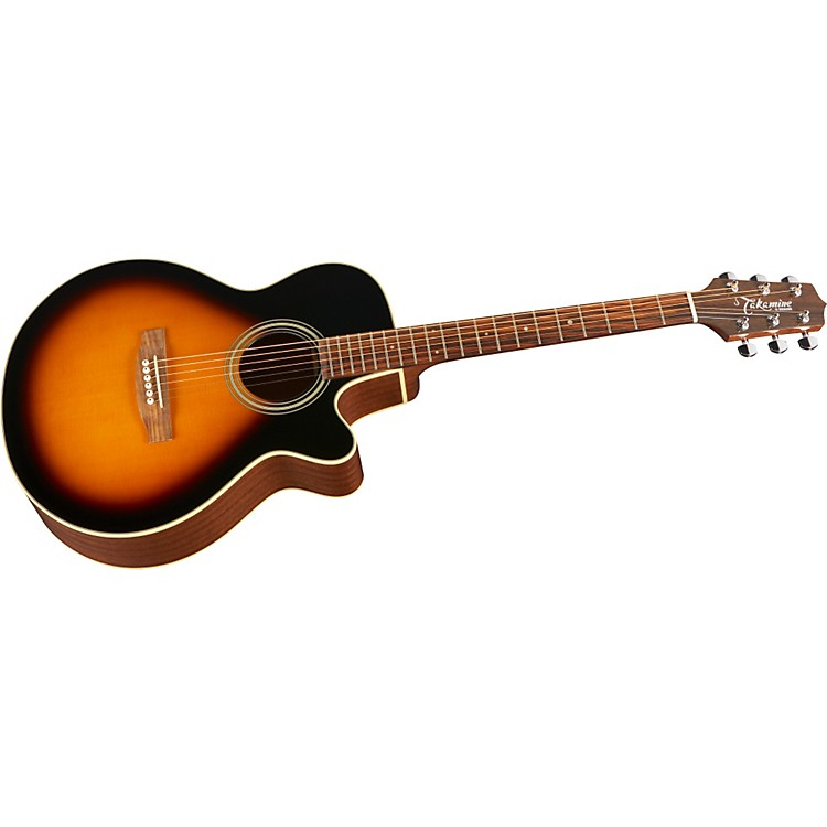 Takamine G FXC G260C Acoustic Guitar Brown Sunburst
