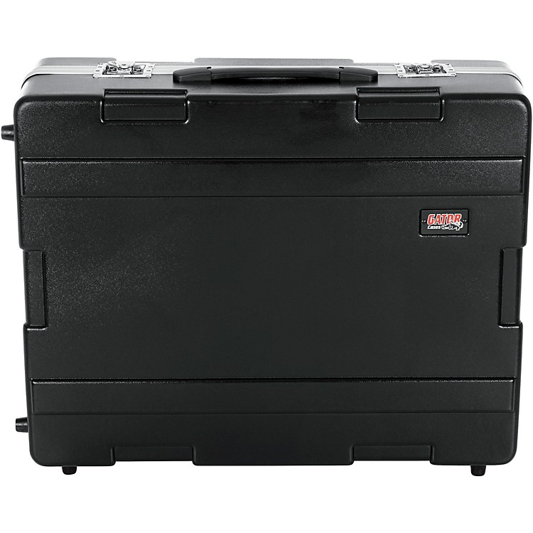 Gator G-MIX ATA Rolling Mixer or Equipment Case Black 25x20x8 Inches