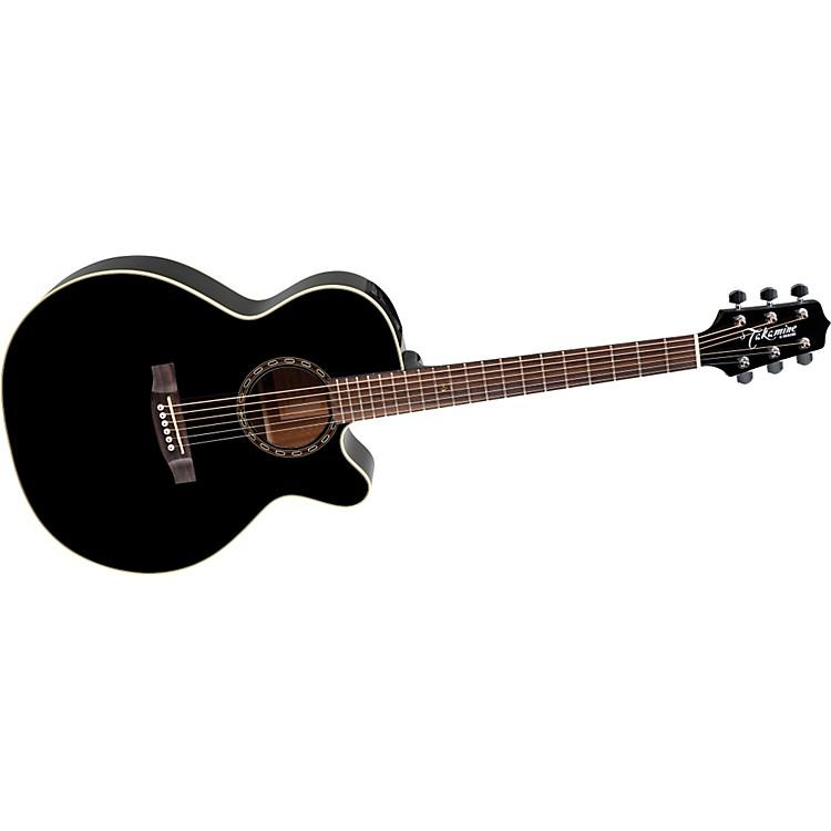 TakamineG NEX EG481SCX Black Chain Acoustic-Electric Guitar