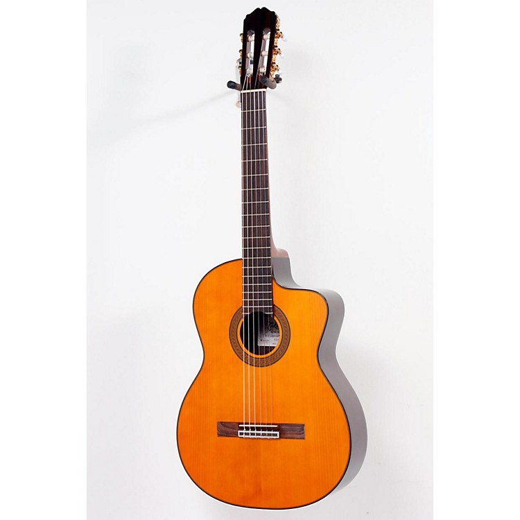 Takamine G Series EG128SC Electric Classical Guitar Natural 888365063010