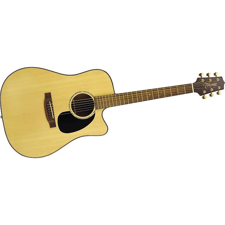 TakamineG Series EG340SC Cutaway Dreadnought Acoustic-Electric Guitar