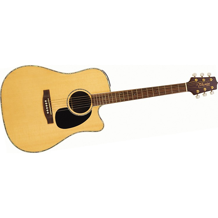 TakamineG Series EG360SC Dreadnought Cutaway Acoustic-Electric Guitar