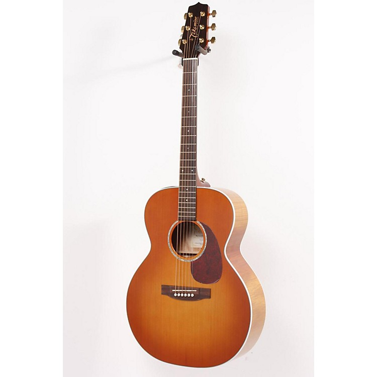Takamine G Series EG430S New Yorker Flame Mahogany Acoustic-Electric Guitar Vintage Violin 886830904875