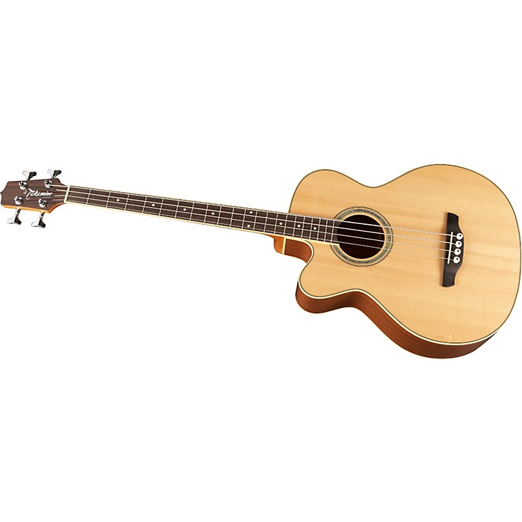Takamine G Series EGB2S Left-Handed Acoustic-Electric Bass Natural