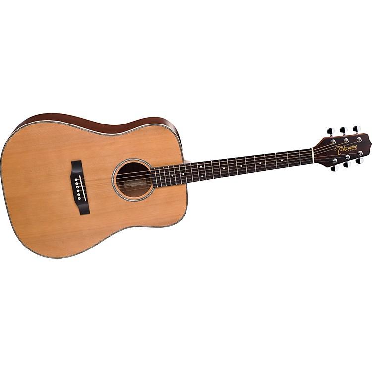 TakamineG Series G511SS Dreadnought Herringbone Acoustic Guitar