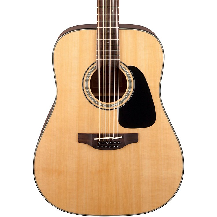 Takamine G Series GD30-12 Dreadnought Solid Top 12-String Acoustic Guitar Gloss Natural