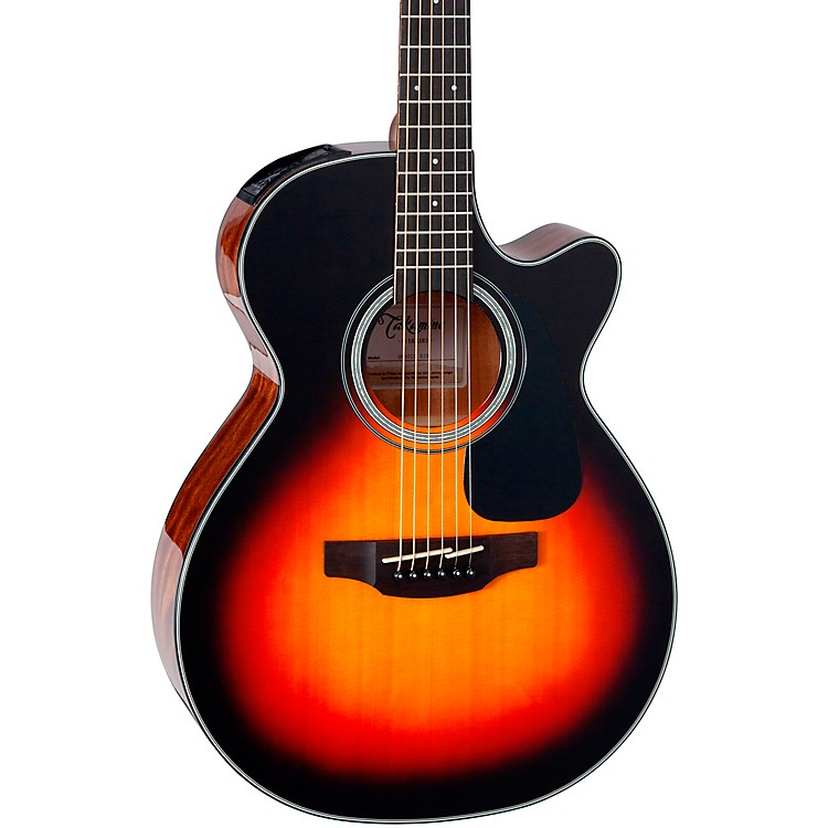 TakamineG Series GF30CE Cutaway Acoustic GuitarSatin Sunburst