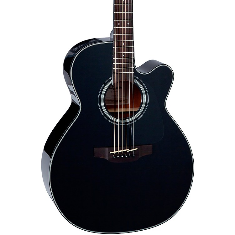 Takamine G Series GN30CE NEX Cutaway Acoustic-Electric Guitar Gloss Black