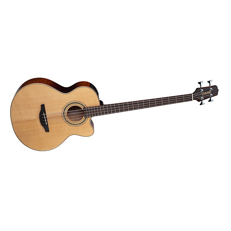 TakamineG Series Quilt Maple Acoustic-Electric Bass