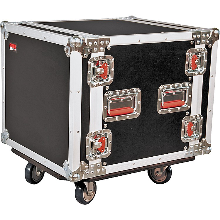 Gator G-Tour 10U Cast Rack Road Case with Casters
